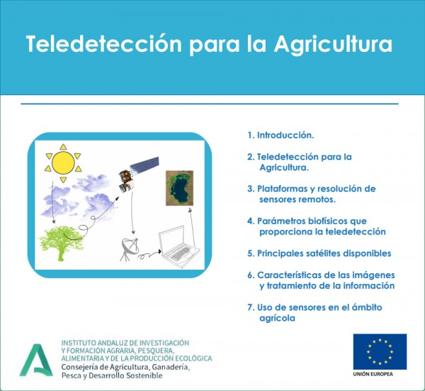 teledetección agricultura