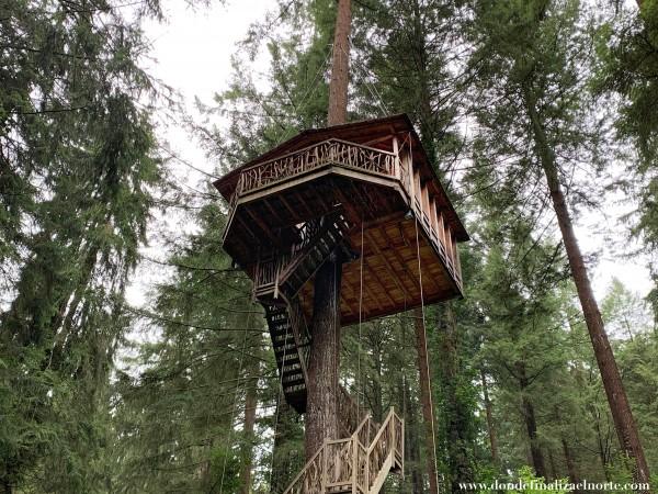 cabañas bosque euskadi