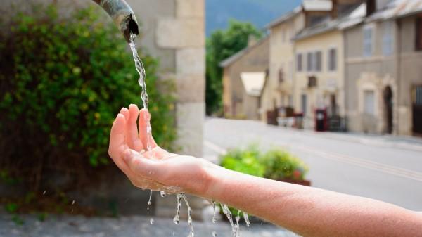 fuente agua