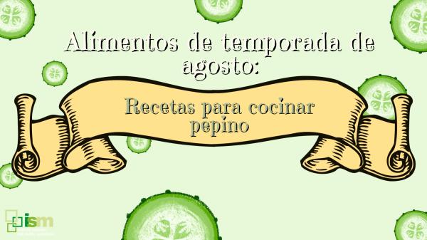 recetas pepino