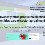 Envases y otros productos plásticos sostenibles para el sector agroalimentario