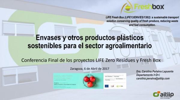 envases sector agroalimentario
